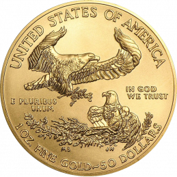 1 UNZE GOLD AMERICAN EAGLE