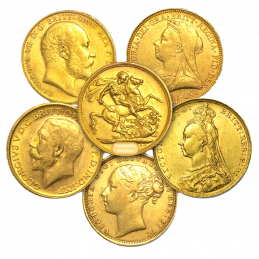 1 PFUND GOLD SOVEREIGN